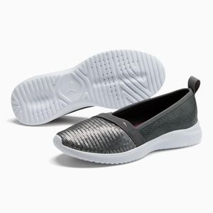 Puma Adelina Sequins RSX Women's Slip On Shoes New
